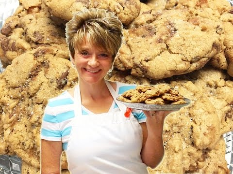 How To Make Salted Caramel Cookies Tutorial