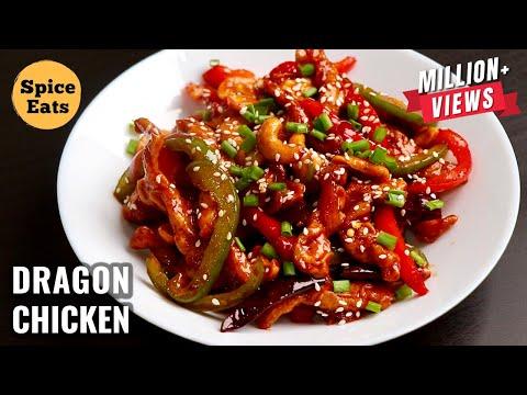 DRAGON CHICKEN | INDO CHINESE STARTER RECIPE | RESTAURANT STYLE DRAGON CHICKEN