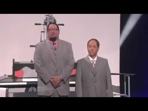 Cutting a woman in half - Gone wrong live - no way bcz it's Penn and Teller thumbnail