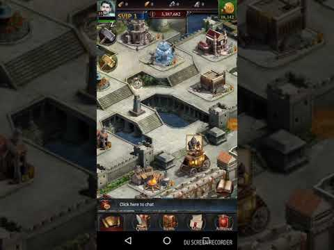 Plundering Resources From Farm Castles In CLASH OF KINGS Online