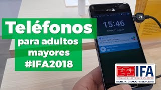 Descubrimos Doro, los smartphones para adultos mayores, en la #IFA2018