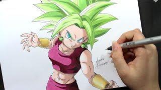 Speed Drawing - Kefla [Dragon Ball Super]