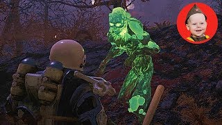 Fallout 76. Lewisburg - A Ghoul-Infested Hellhole (PS4 gameplay. Episode 24)