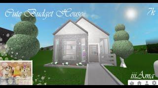 Cute Budget House 7k | Speedbuild | Roblox Bloxburg
