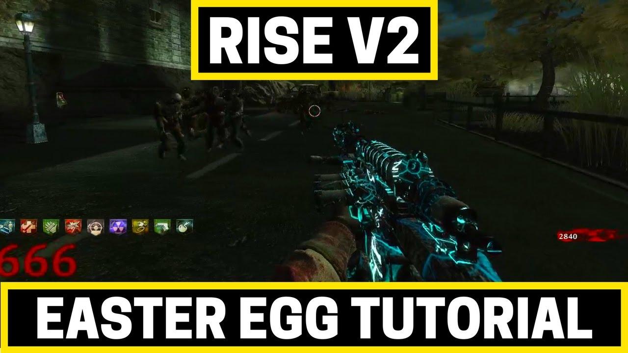 Rise v2 - Easter Egg Tutorial | WAW Custom Zombie Maps - YouTube