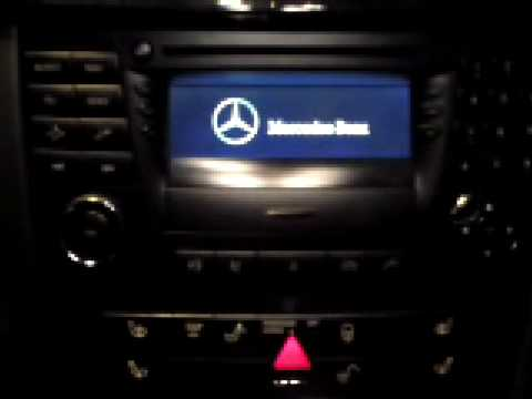 audio 50 aps startet nicht mercedes w211 e klasse youtube. Black Bedroom Furniture Sets. Home Design Ideas