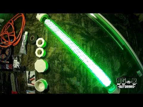 green monster fishing lights llc - youtube, Reel Combo