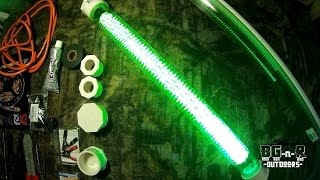 DIY Homemade 600 LED fishing lights for CHEAP!! Part2