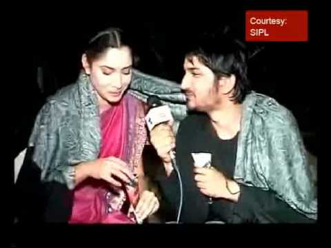 On the sets of 'Pavitra Rishta'
