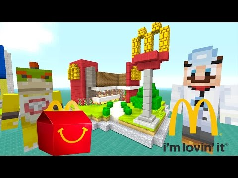 Minecraft Wii U - Nintendo Fun House - Bowser Jr's Happy Meal  [63]