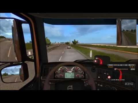 Euro Truck Simulator 2 - Scandinavia - Aalborg to Växjö Gameplay (PC HD) [1080p]