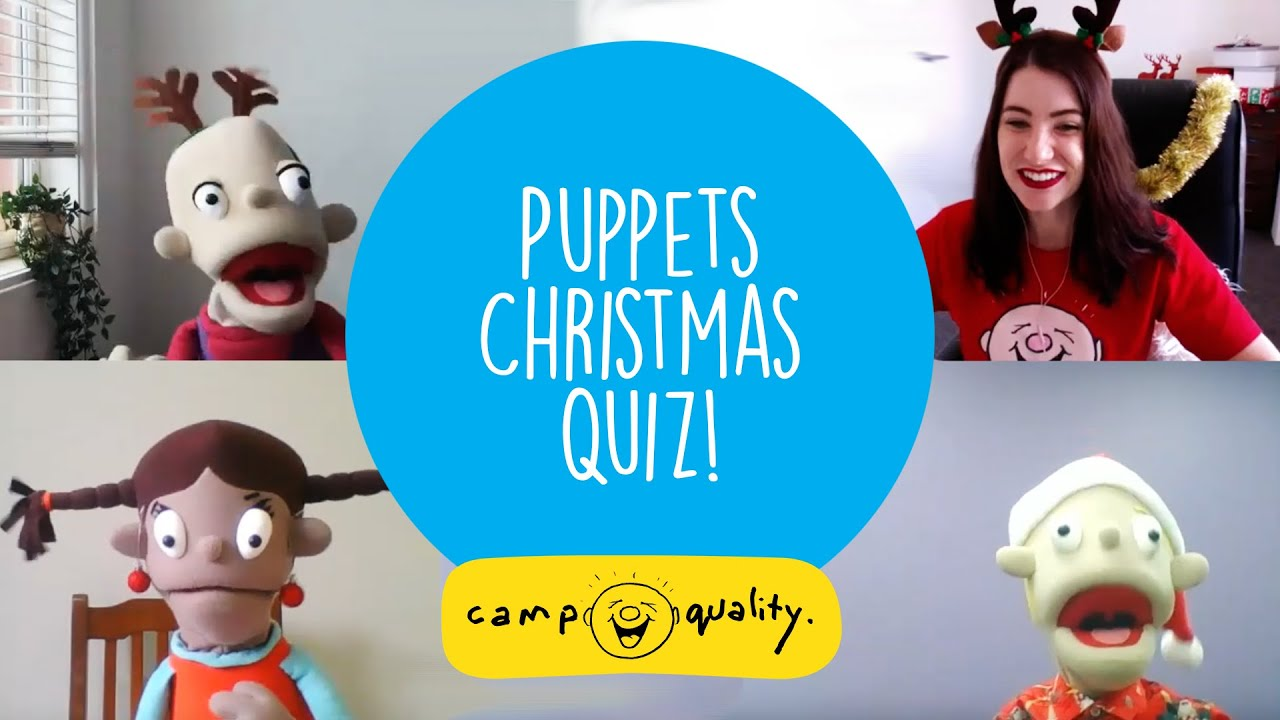 Learn Christmas Facts for Kids | Silly Christmas Quiz with the Camp Quality Puppets!