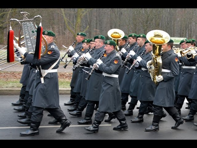 Marsch aus Petersburg - Schloss Bellevue 21.01.2019