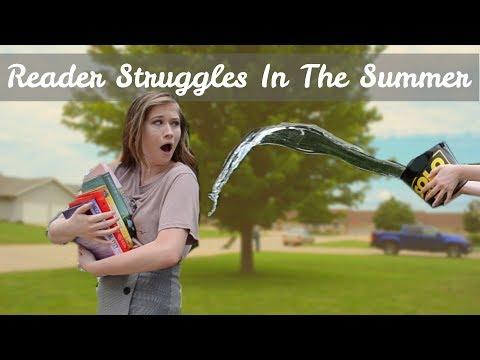 Reader Struggles In The Summer