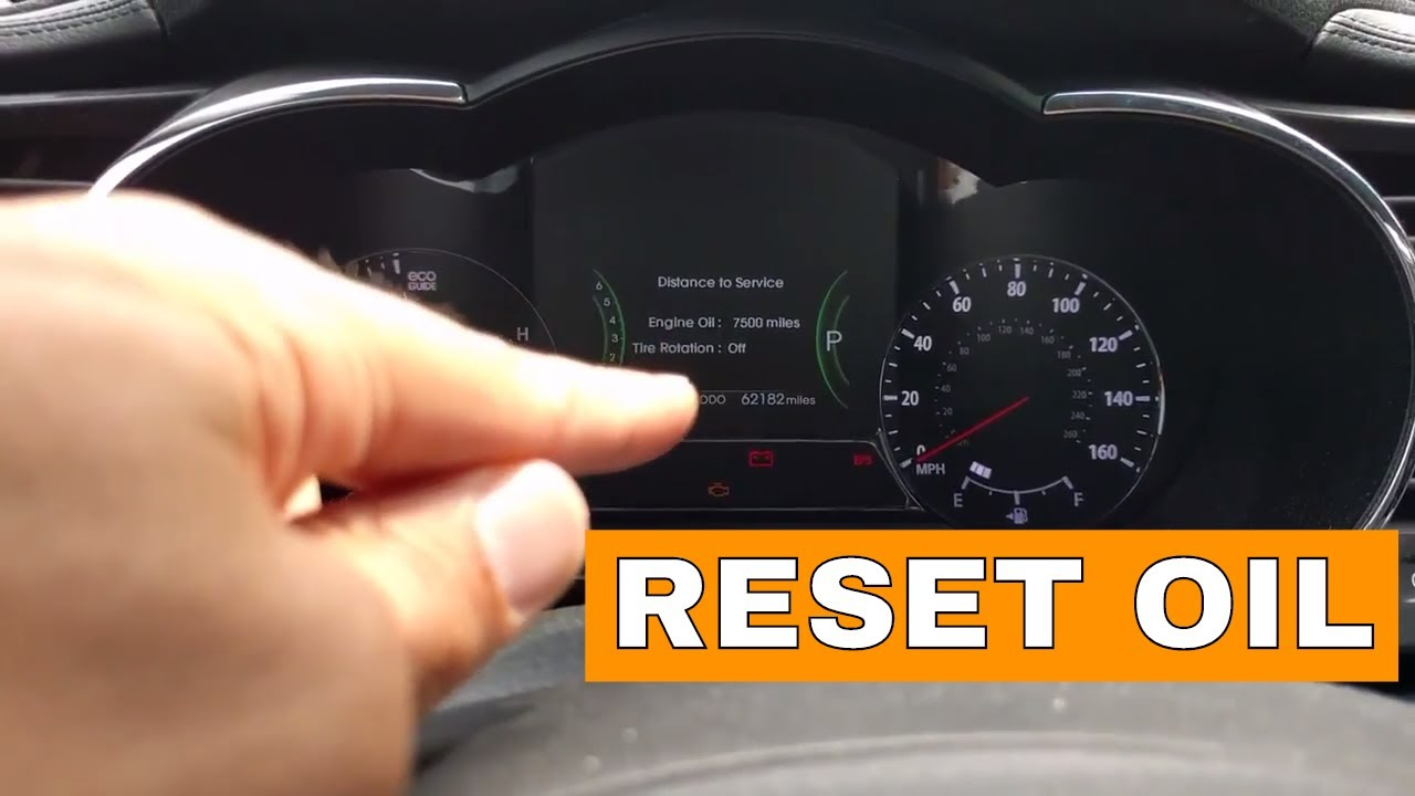 Kia Optima Reset Oil Reminder