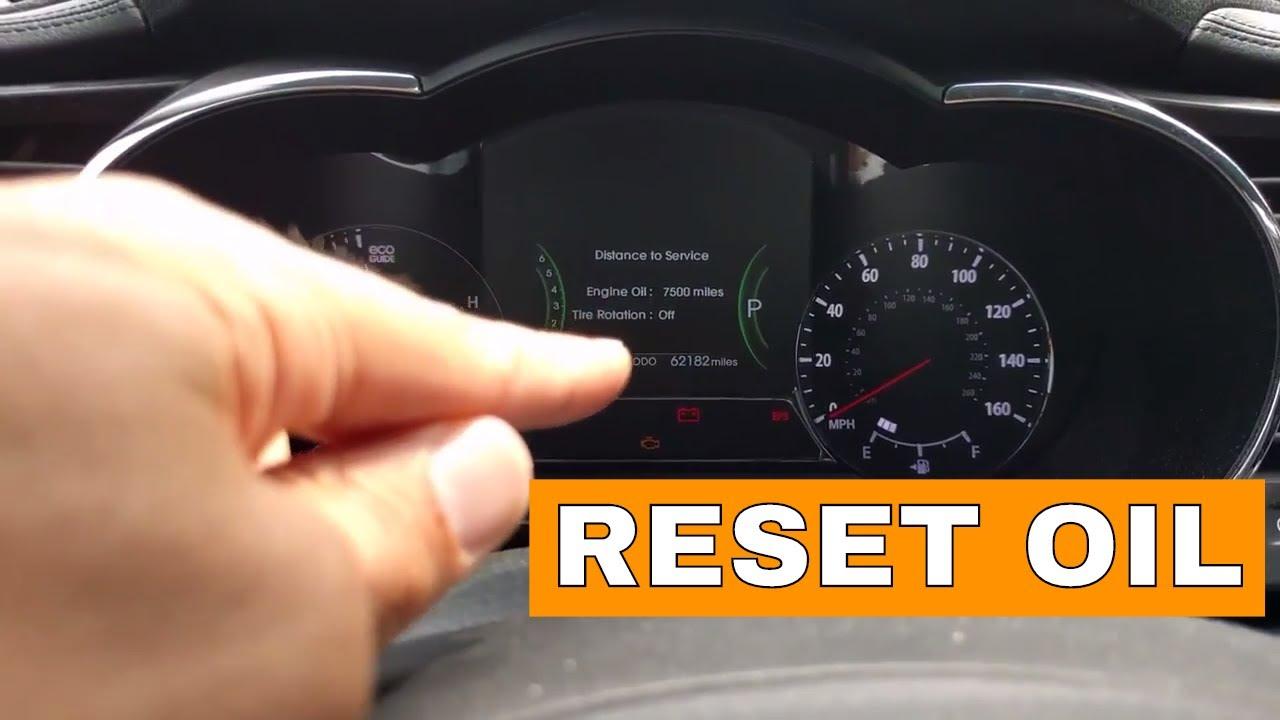 Kia Optima Oil Type >> Kia Optima Reset Oil Reminder