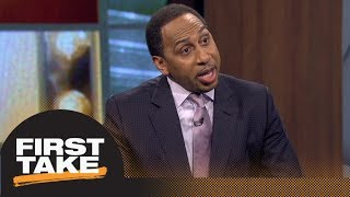 Stephen A. Smith ranks LeBron James' Lakers as top 3 in Western Conference | First Take | ESPN
