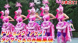 TDR 35周年・お昼の新パレード ~ ドリーミング・アップ!からダンサー...