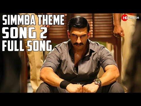 Simmba Theme Song  2 | Ranveer Singh, Sara Ali Khan | Tanishk Bagchi