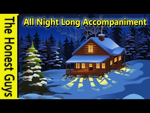 Guided Sleep Meditation: The Log Cabin - All Night Long Ambience (11 Hours)