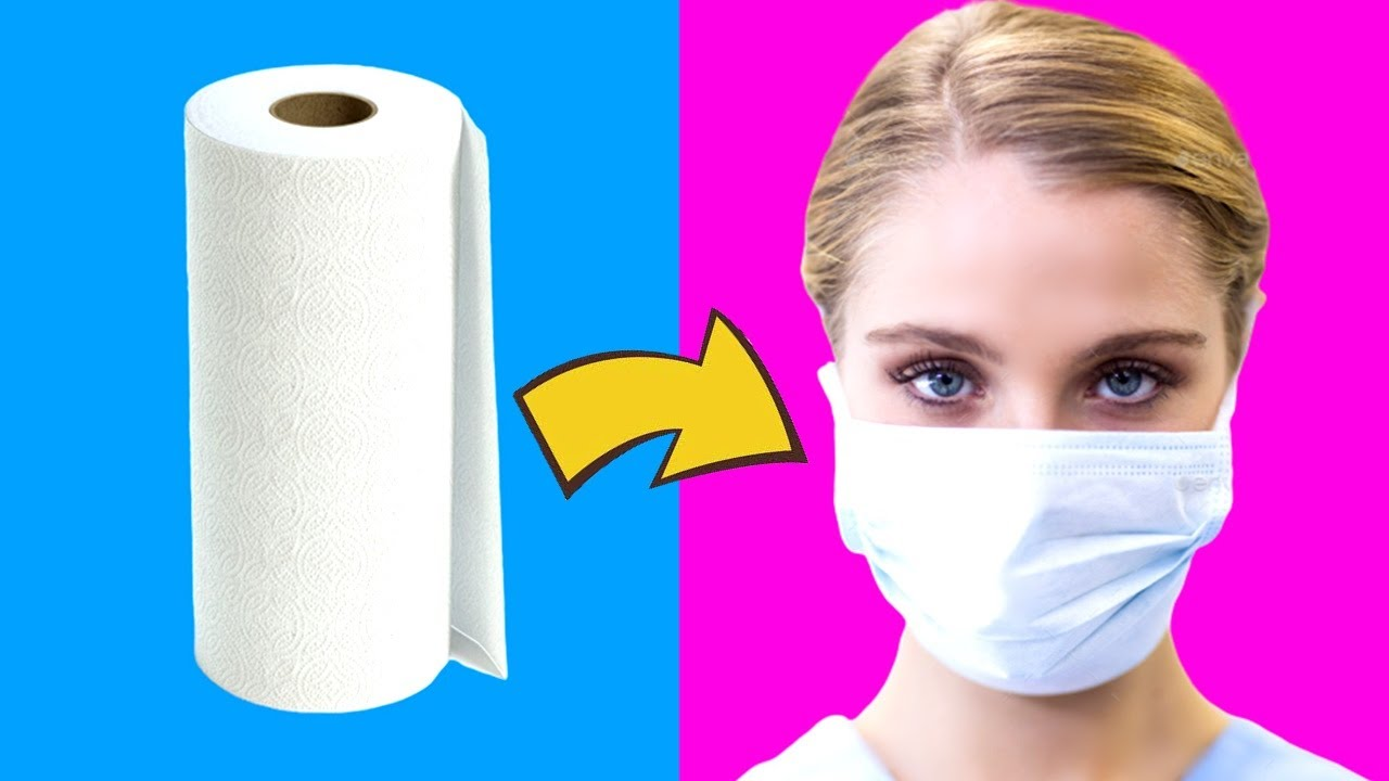 8 DIY: EMERGENCY LIFE HACKS  - Face Mask, Cologne, Hand Disinfectant and more.. #StayHome #WithMe