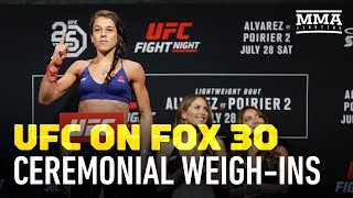 UFC on FOX 30 Ceremonial Weigh-In Highlights - MMA Fighting