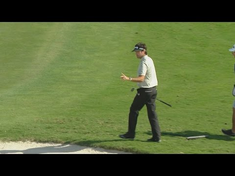 Bubba Watson's bunker blast for eagle at ...