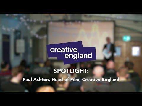 Be More Creative: Stoke - Paul Ashton, Creative England