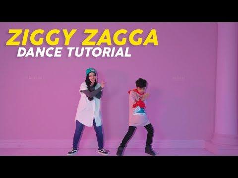 Gen Halilintar Ziggy Zagga Dance Tutorial By Sajidah Halilintar