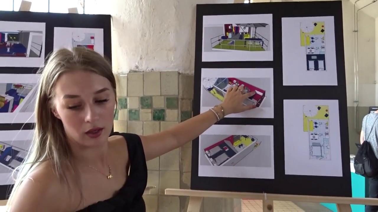Vlog 5 expositie examenproject youtube for Interieur adviseur