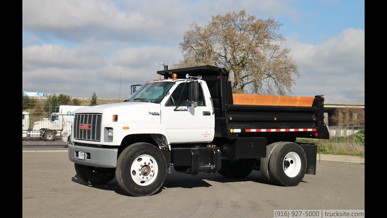 1994 Gmc C7500 Topkick 5 Yard Dump Truck For Sale Youtube