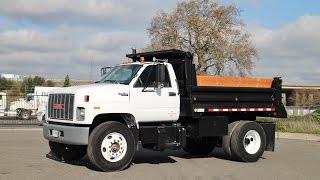 1994 GMC C7500 TopKick 5 Yard Dump Truck for sale