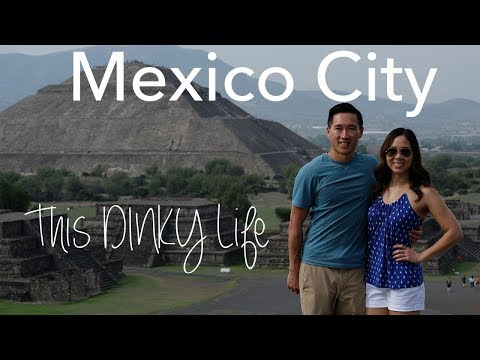 Pyramids, Artists, Food, Culture - Travel to MEXICO CITY