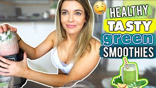 Healthy TASTY Green Smoothies?! | Home HIIT! | Movie Review | Vlog