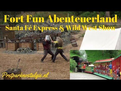 Fort Fun - Santa Fé Express & Wild West Show 2016 | Goldrausch am Yukon Creek