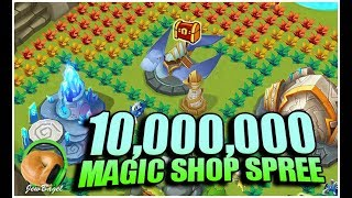 SUMMONERS WAR: 10 Million Mana Shop Spree, What Can We Get?