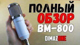 Повний огляд мікрофона BM-800 | Буде працювати без аудіокарти???