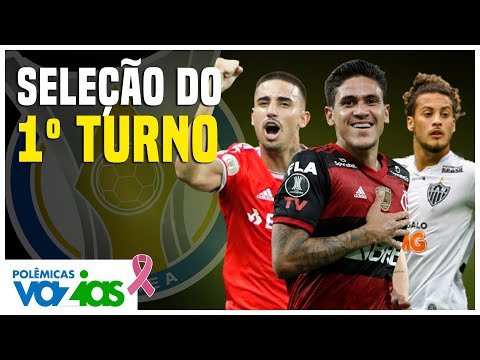 A SELEÇÃO do 1º TURNO do BRASILEIRÃO 2020   Polêmicas Vazias #276
