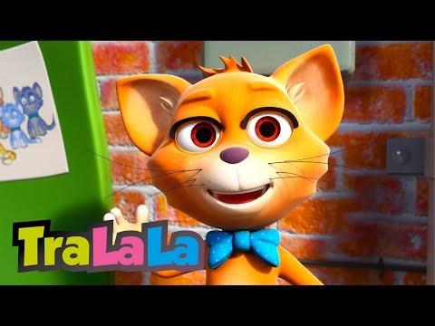 Un motan cât un pisoi - Cântece pentru copii | TraLaLa
