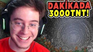 Dakikada 3600 Tnt Atan Sınırsız Makine Yaptım  Minecraft Hardcore 10