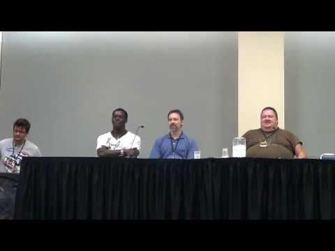 Heroes Con 2013 Transformer panel pt.1