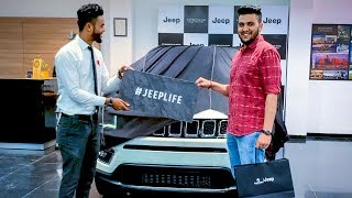 UNBOXING OF MY NEW CAR... I Gifted Jeep Compass To Myself!