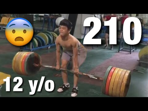 Chinese kids are stronger than you