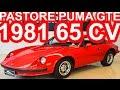 PASTORE Puma GTE 1981 Vermelho MT RWD 1.6 Volkswagen 65 cv 12,3 mkgf #Puma