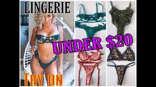 Online lingerie shopping  try on- UNDER $20