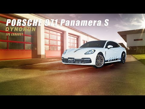 The iPE Titanium exhaust for Porsche Panamera S