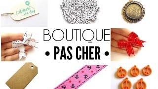 Boutique pas cher • Noeuds, rubans, camés, breloques! |La fabrik à bijoux|