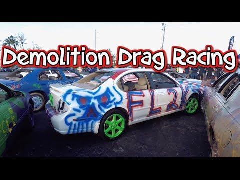 Demolition Drag Racing