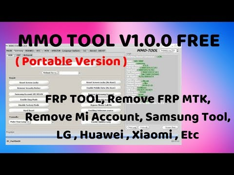 MMO TOOL V1.0.0 (Portable Version)