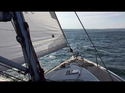 Sailing from Gdansk to Sopot in Poland #LifestylePolen